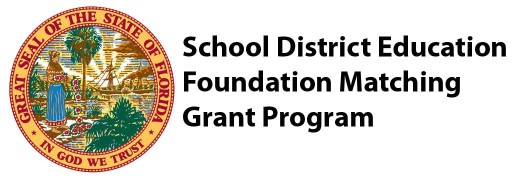 School District Education Foundation Matching Grant Program Seal