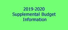 Supplemental Budget
