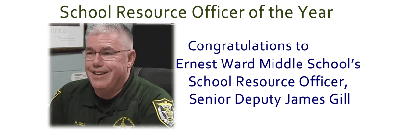 School Resource Officer of the Year - Senior Deputy James Gill